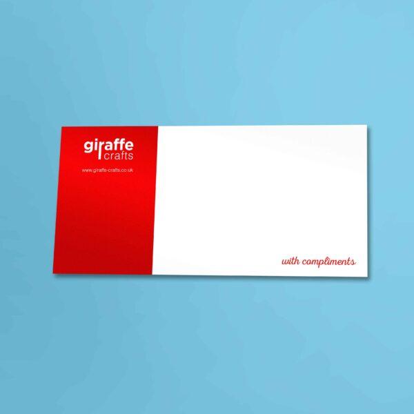 Compliment Slips \u2013 Web Design, Graphic Design, Logo Design Derry - compliment slip template