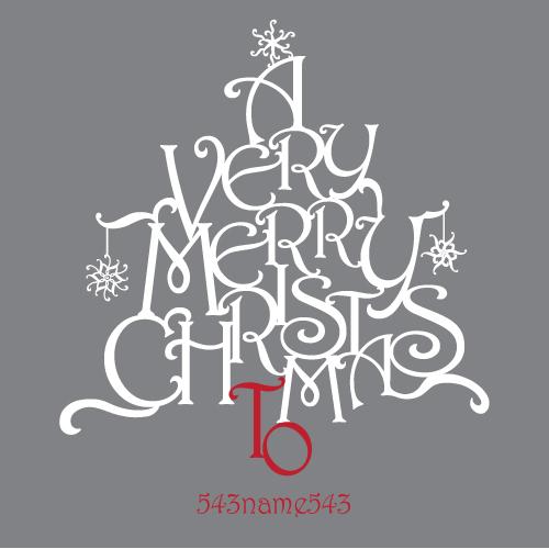 Christmas Typography Rosalind-christmas-tree-words-to - christmas tree words