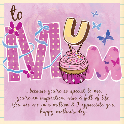 Mother\u0027s Day Type Special Mother\u0027s Day Card by Naomi