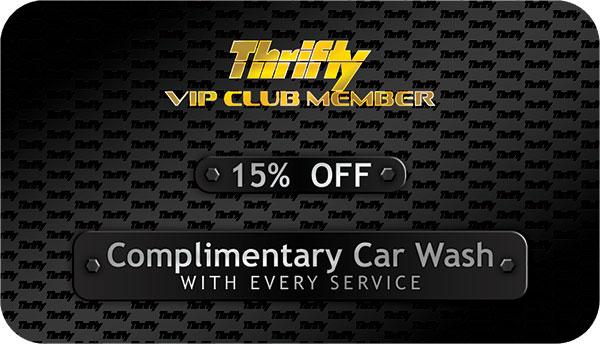 Thrifty VIP Club Member Card  Plastic Card Printing in FL - club card design