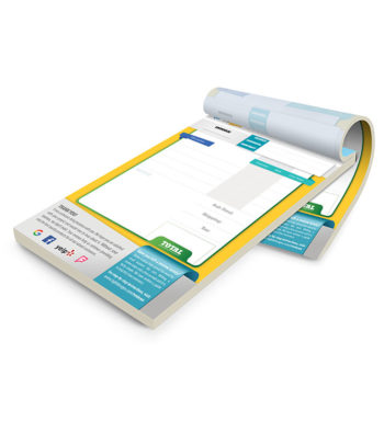 Custom Invoices Printing in Ft Lauderdale - Full Color Carbonless Forms