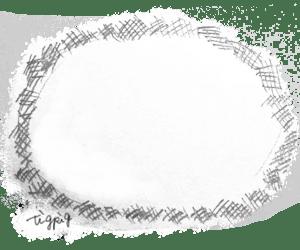 鉛筆の線の楕円のアナログ風のフレーム:300×250pix