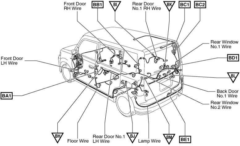 2009 scion xb wiring diagram original