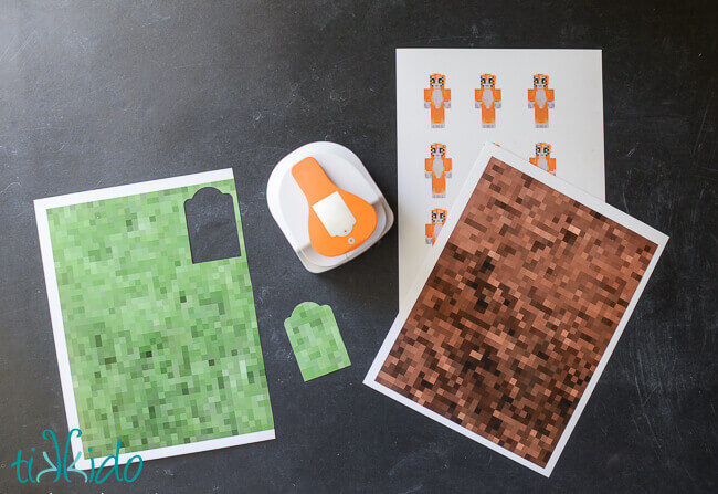 Minecraft Gift Wrapping Tutorial Tikkido