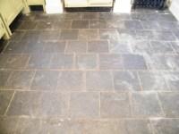 Slate kitchen floor Knypersley, Staffordshire. - Tile ...