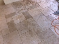 Travertine Kitchen Floor Cleaning & Sealing Trysull ...