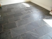 Black Slate kitchen floor stripping cleaning and sealing ...