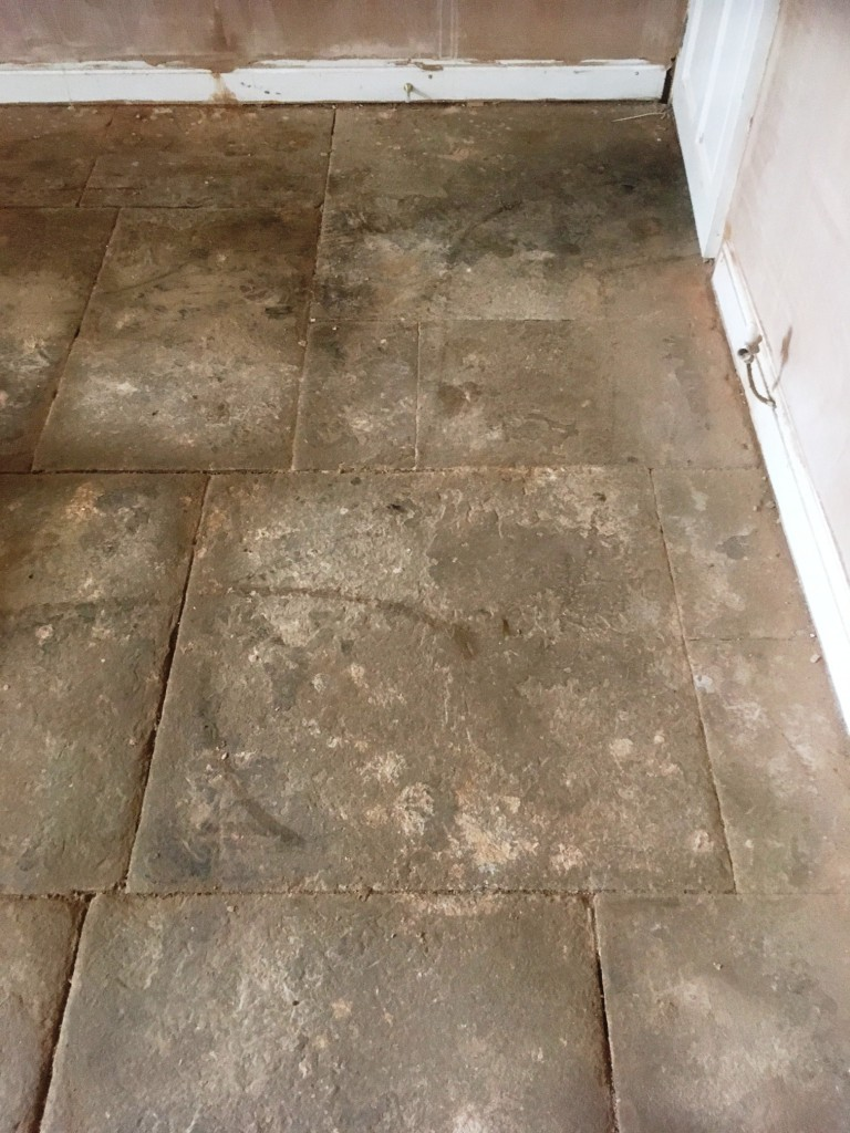 Slate Shower Tile Old Flagstone Tiled Flooring Resurfaced In Great Harwood