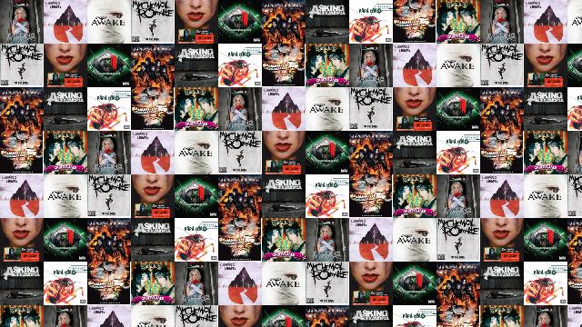 Falling In Reverse Wallpaper 1366x768 Blood On The Dance Floor 171 Tiled Desktop Wallpaper