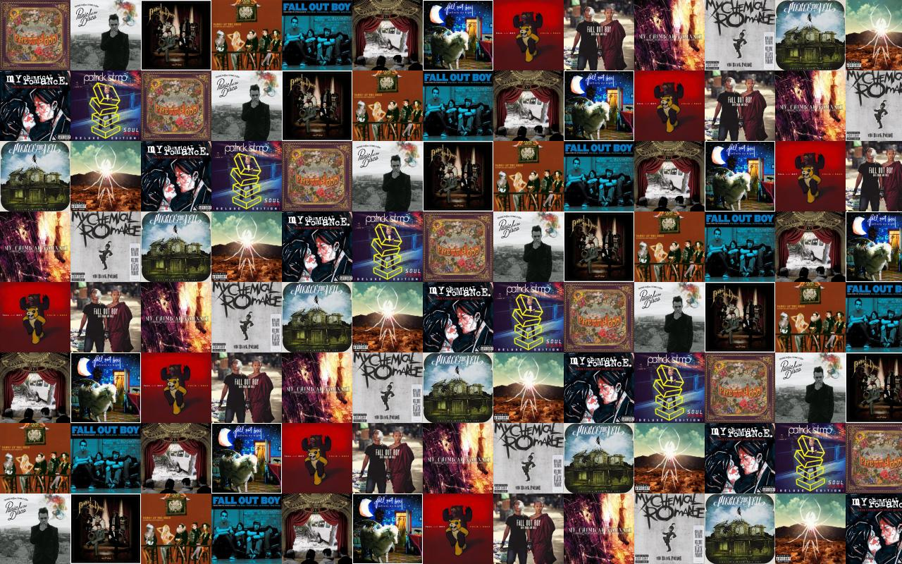 Fall Out Boy Wallpapers 2015 Panic At Disco Pretty Odd Too Weird To Wallpaper 171 Tiled