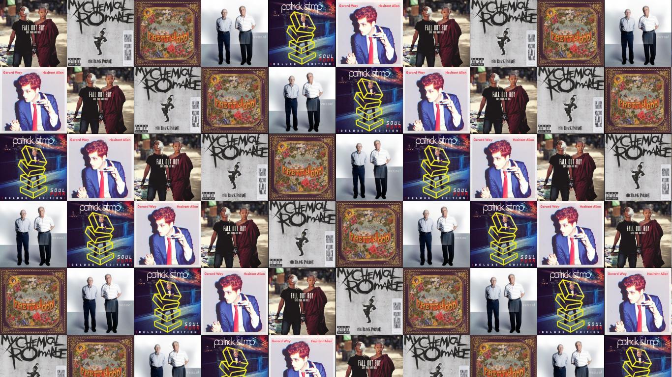 Fall Out Boy Patrick Stump Wallpaper My Chemical Romance 171 Tiled Desktop Wallpaper