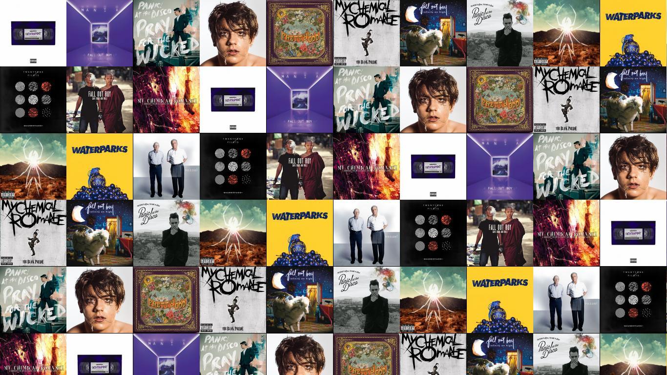 Fall Out Boy Mania Wallpaper Fall Out Boy 171 Tiled Desktop Wallpaper