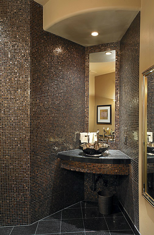 31 Black And Gold Bathroom Tiles Ideas And Pictures 2019