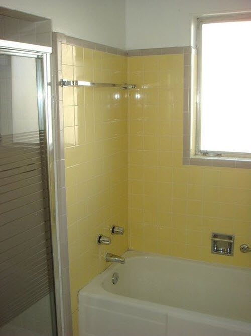 38 Yellow Bathroom Tile Ideas And Pictures 2020