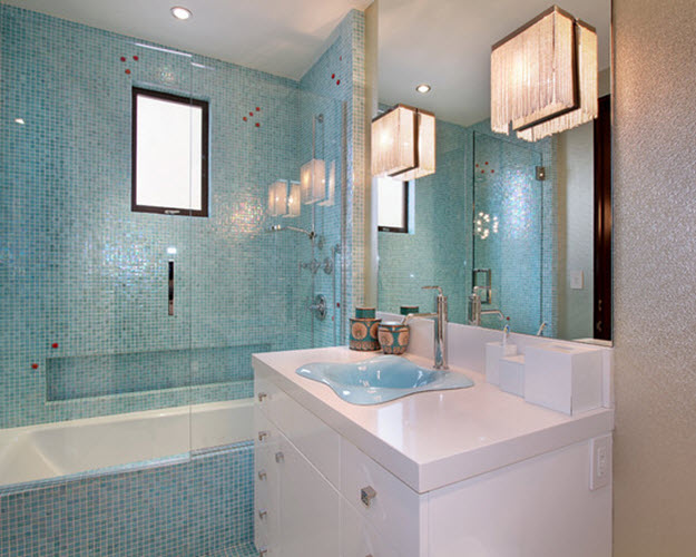 Pale Blue Bathroom Ideas 40 Light Blue Bathroom Tile Ideas And Pictures