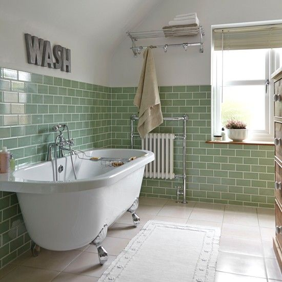 Bathroom Wall Floor Same Tile 32 Sage Green Bathroom Tiles Ideas And Pictures