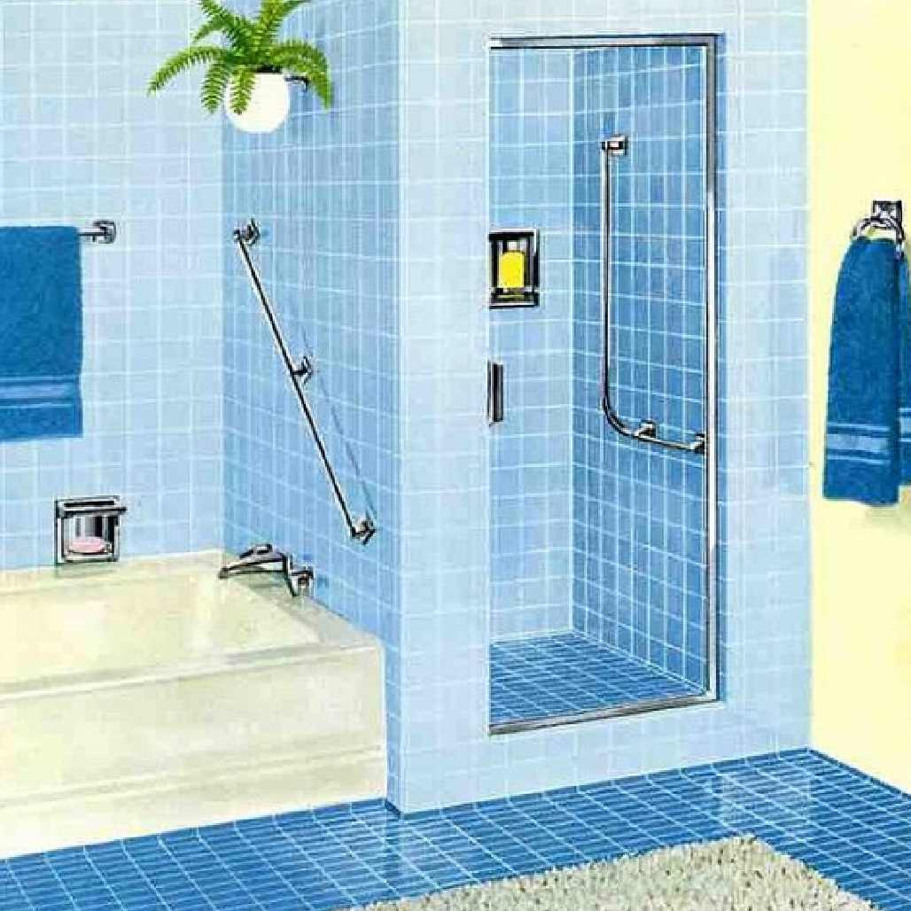 37 Sky Blue Bathroom Tiles Ideas And Pictures 2020