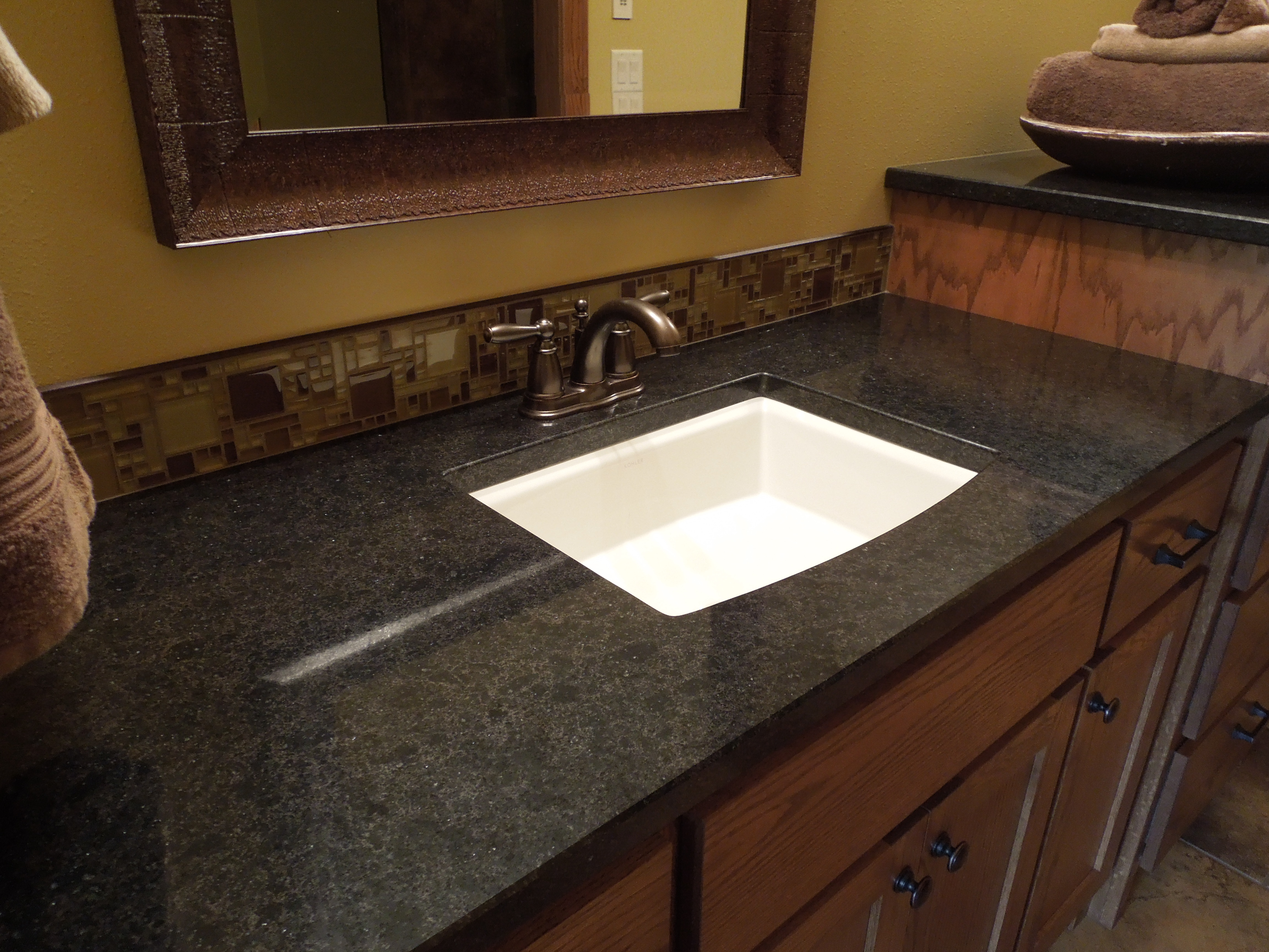Bathrooms With Marble Countertops 30 Interesting Bathroom Countertop Granite Tile Picture