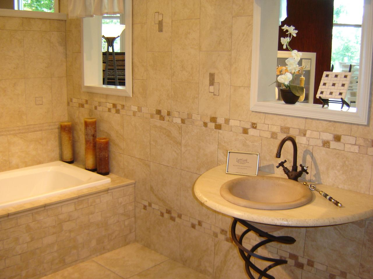Ceramic Tile Bathroom 25 Wonderful Ideas And Pictures Of Decorative Bathroom Tile Borders