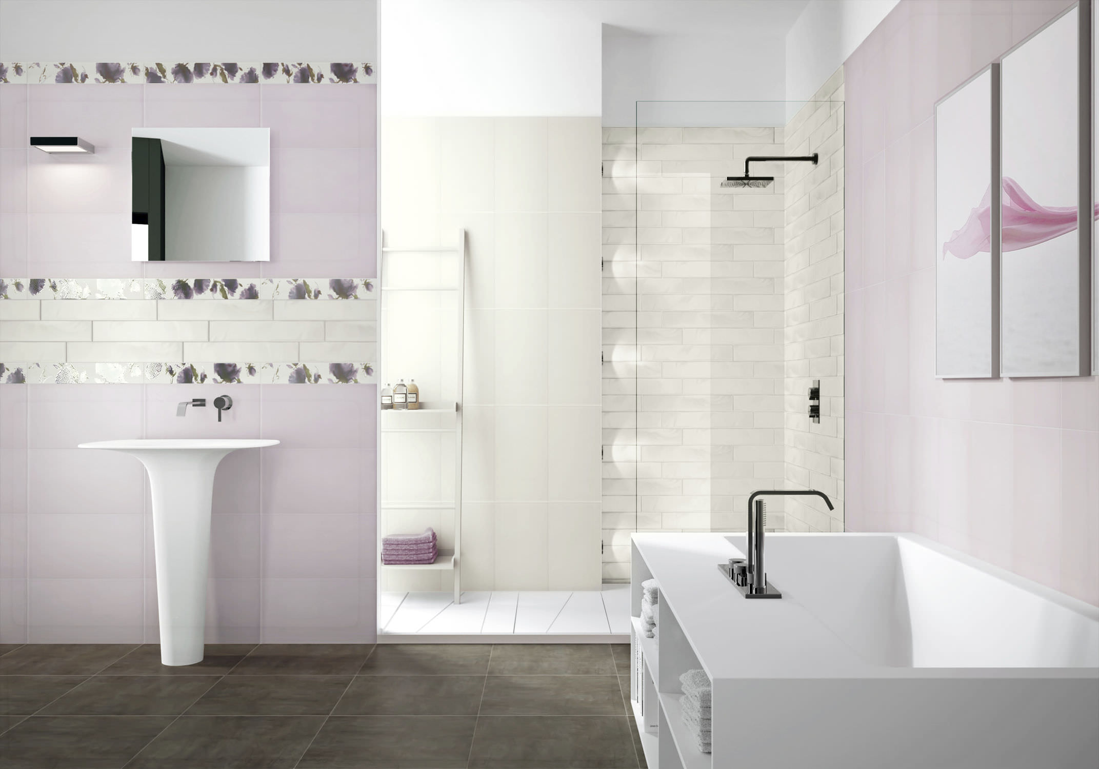 27 Wonderful Pictures And Ideas Of Italian Bathroom Wall Tiles 2021
