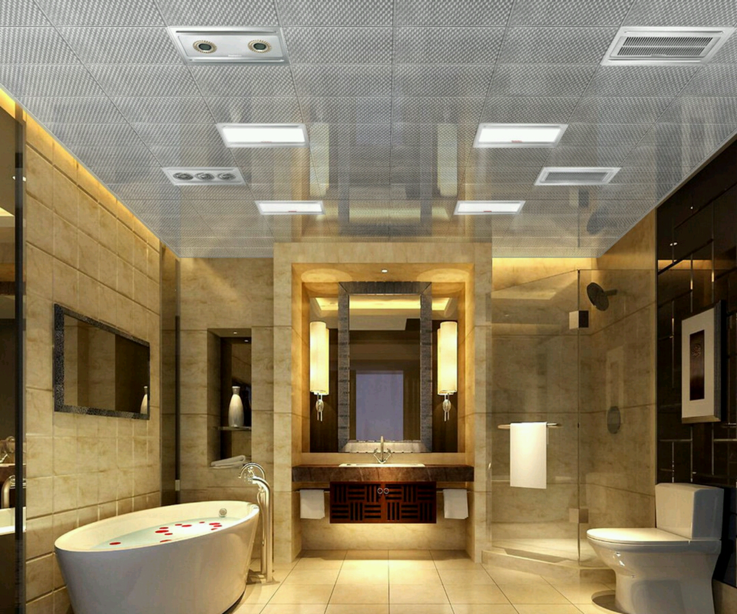 Luxury Ceiling Design 30 Beautiful Pictures And Ideas High End Bathroom Tile Designs