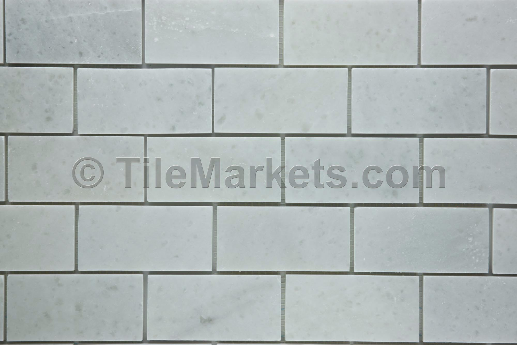 Glass Subway Tile Shower Tumbled Marble Subway Tile | Tilemarkets®