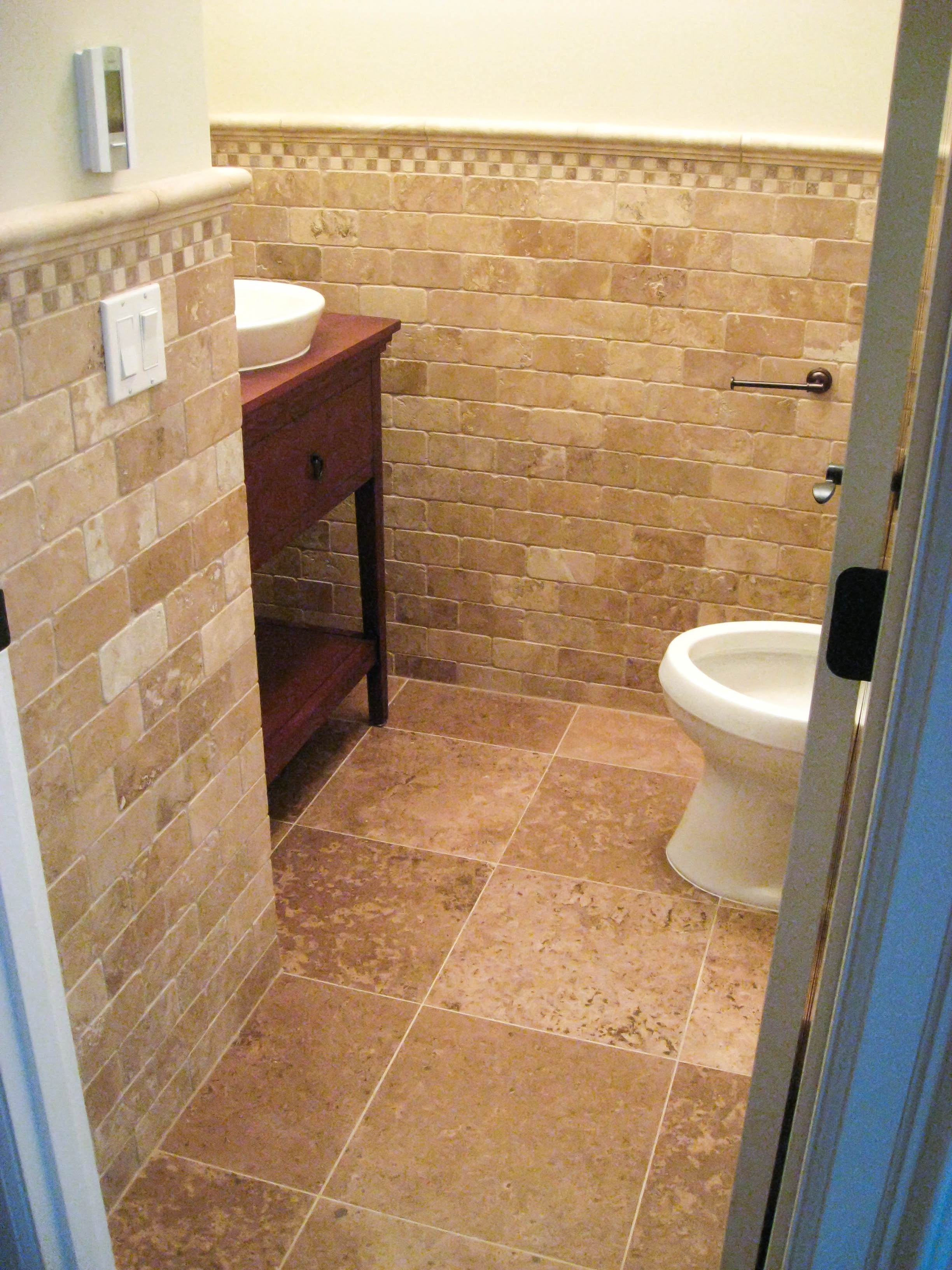 Ceramic Tile Bathroom Bathroom Wainscoting Gallery Tile Contractor Irc Tiles Services