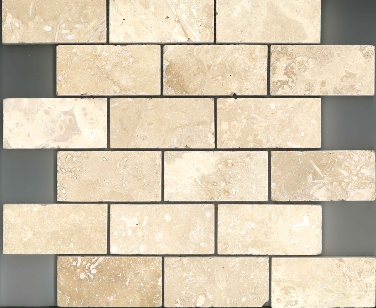 Grout Mosaic Tile 4m² Luxury Travertine Stone Mosaic Bundle Including