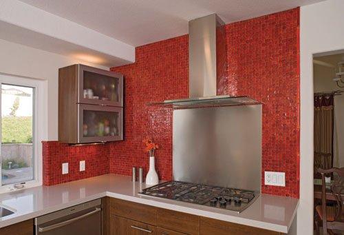 red design red mosaic kitchen awesome kitchen backsplash ideas decoholic