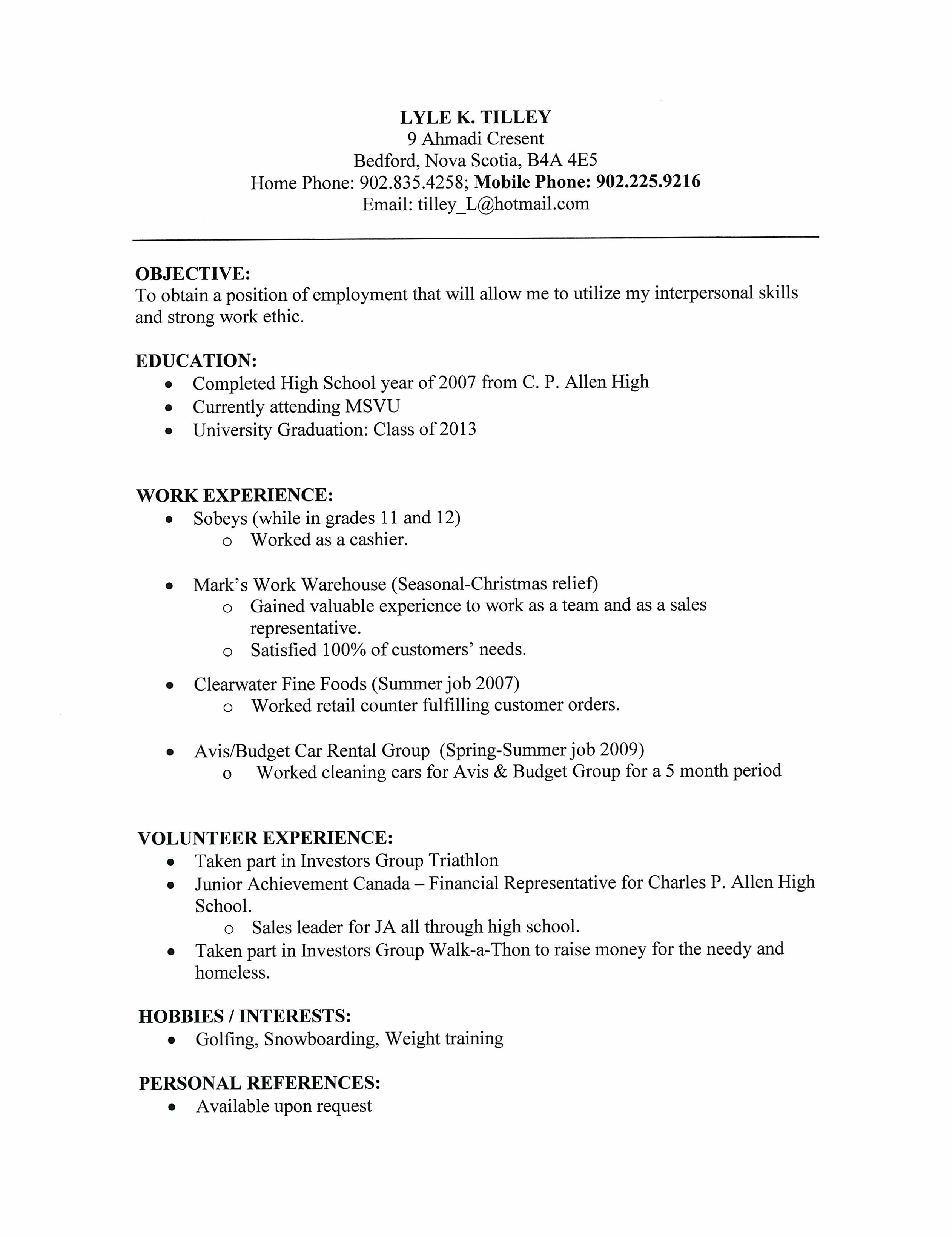 What Is A Resume Letter Selol Ink