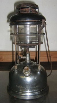 Paraffin pressure lamps