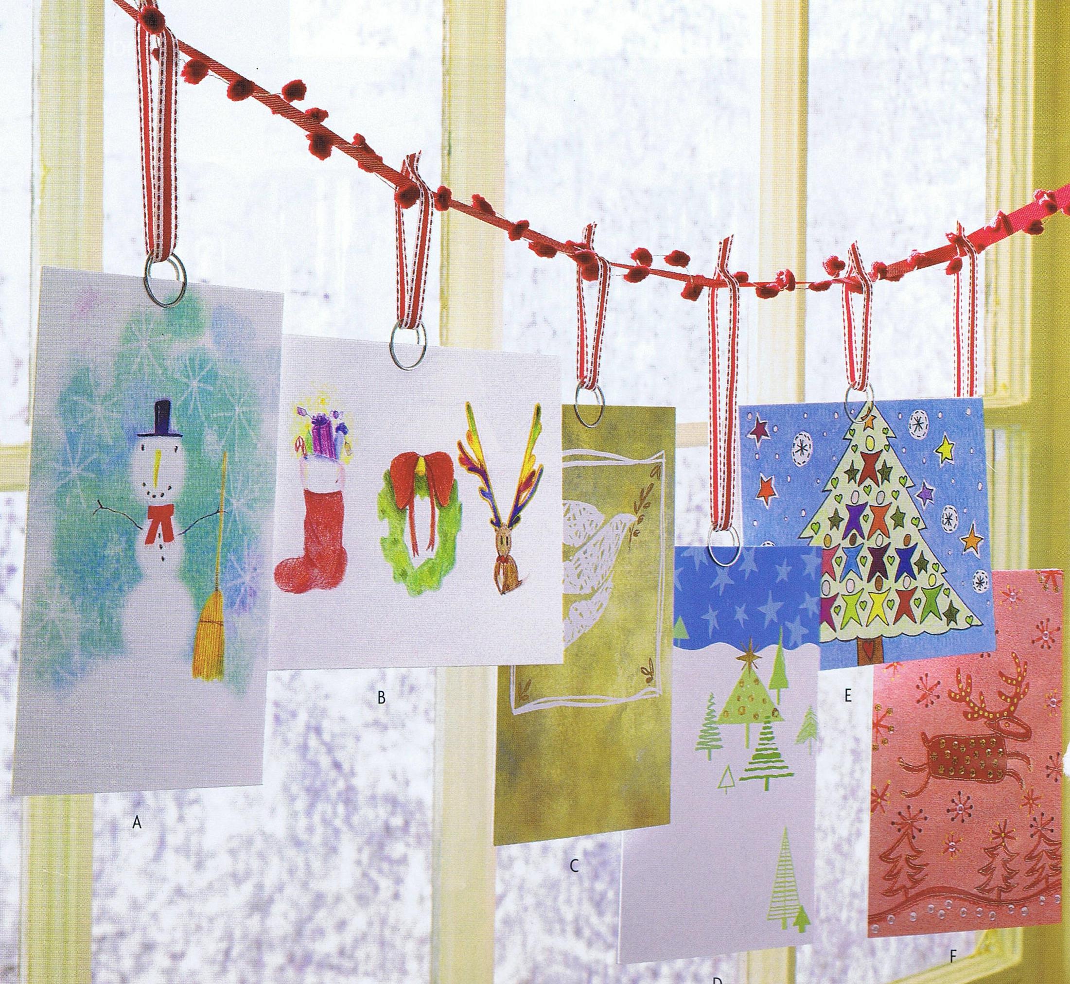 Fullsize Of Christmas Card Holder