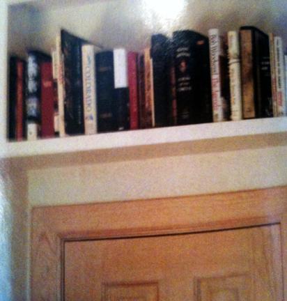 Over The Door Bookshelf Tilly39s Cottage