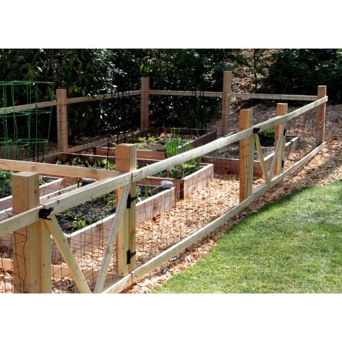 Medium Crop Of Small Garden Fence