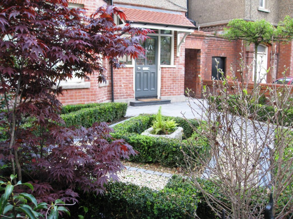 Small Garden Ideas Ireland Smart Front Garden Design In Dublin | Tim Austen Garden