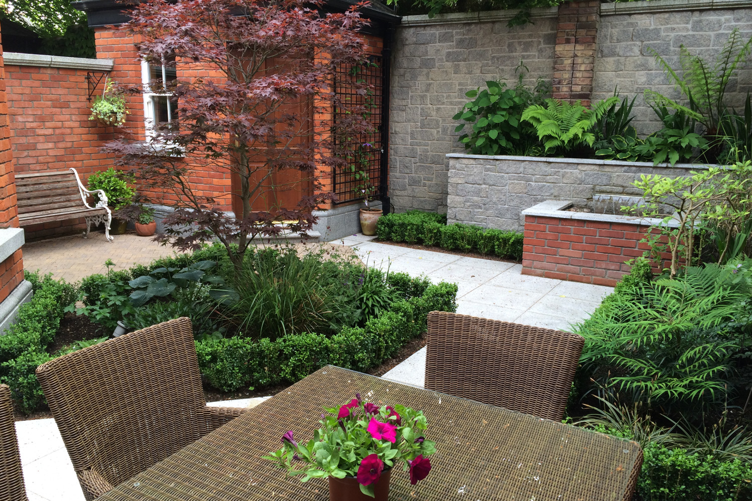 Courtyard Designs Cute Courtyard Garden In Terenure Dublin Tim Austen Garden Designs