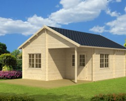 Large Garden Log Cabin Manchester 31m² / 50mm / 5,3 x 7,4 m