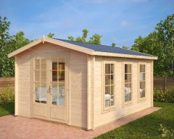 Garden Room Eva B 12m² / 40mm / 3,2 x 4,4 m