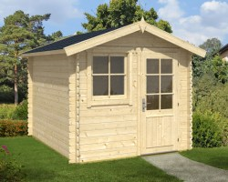 Small Garden Office Anke L 6,2m² / 28mm / 2,5 x 3 m