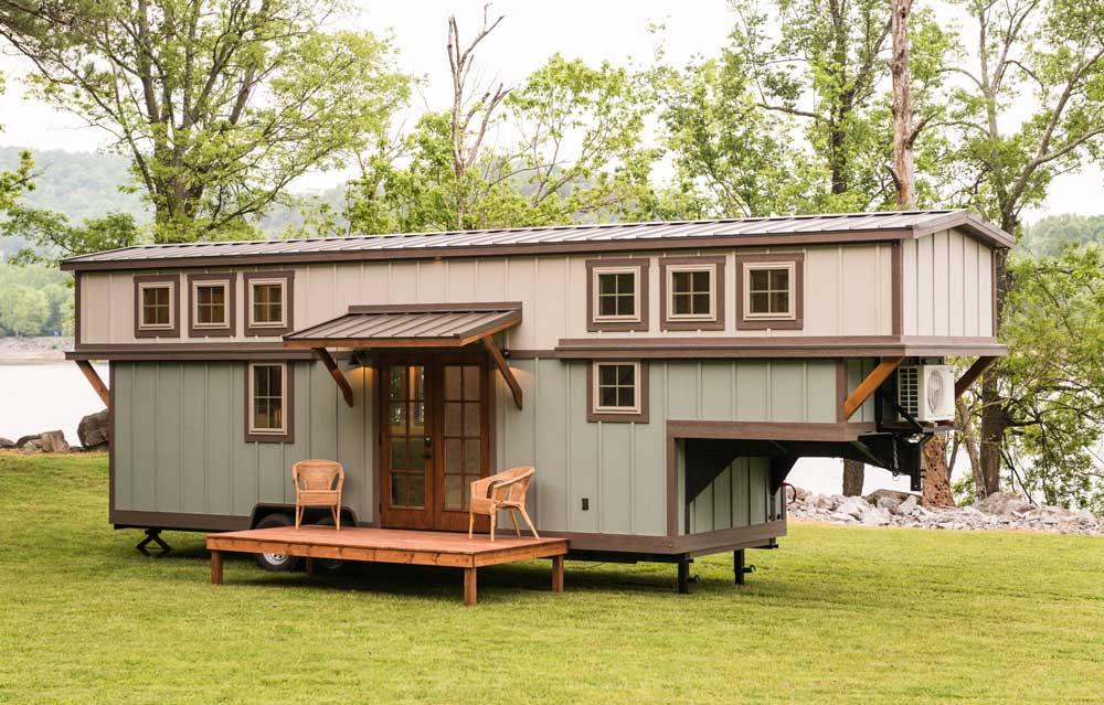 timbercraft 37 u0026 39 tiny house on wheels for sale al