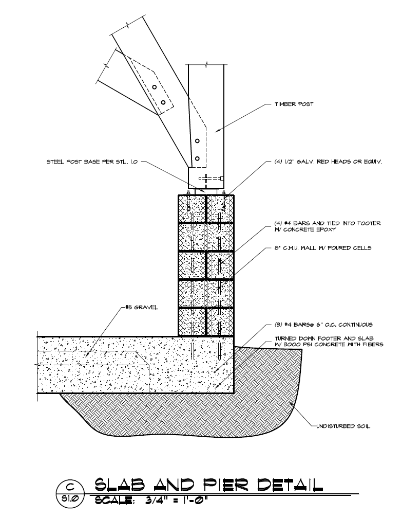 reinforced concrete continuous framing beam diagrams