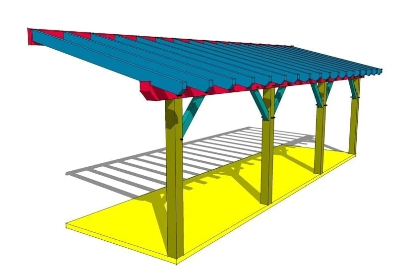 Comfortable Shed Roof Framing Plan - Yamsixteen