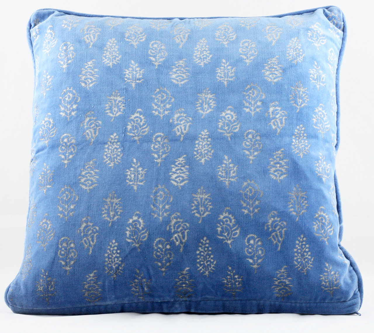 Blue Velvet Cushion Velvet Cushion Cover Blue Ebay