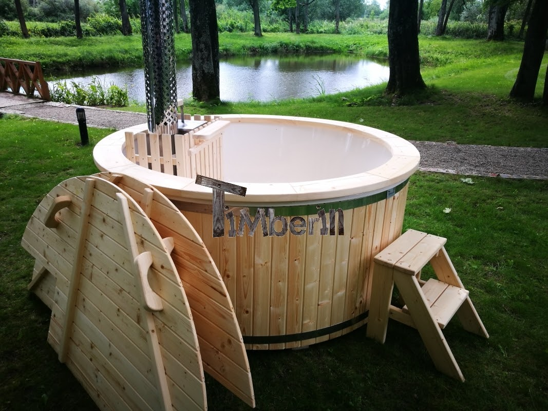 Pool Heizen Mit Luftwärmepumpe Wood Fired Hot Tubs Wooden Hot Tubs Timberin Hot Tubs