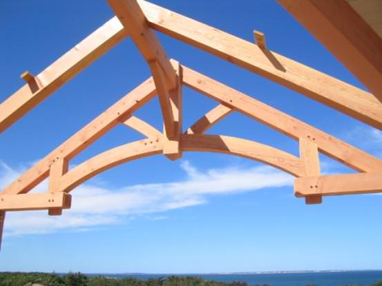 Timber Frame Truss Design in the Barn Home Timberpeg Timber Frame