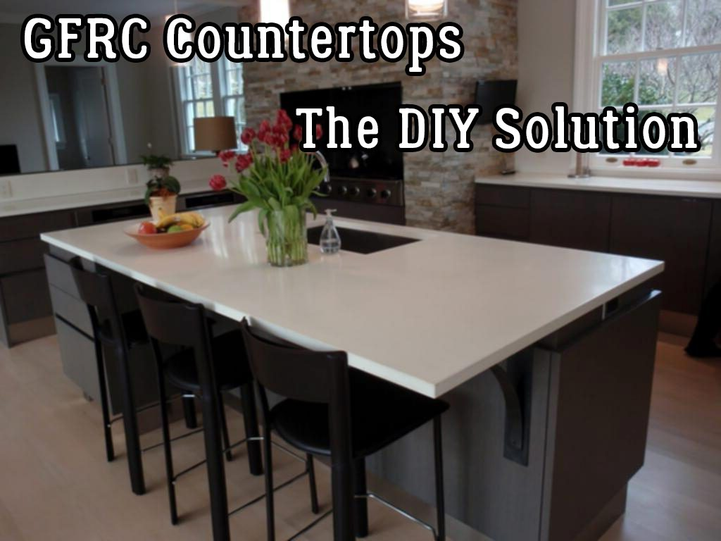 Gfrc Countertops The Diy Solution Timber Ridge Designstimber Ridge Designs