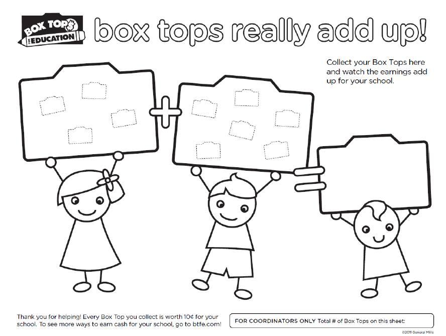 Box Tops for Education - Timber Ridge Elementary School PTA