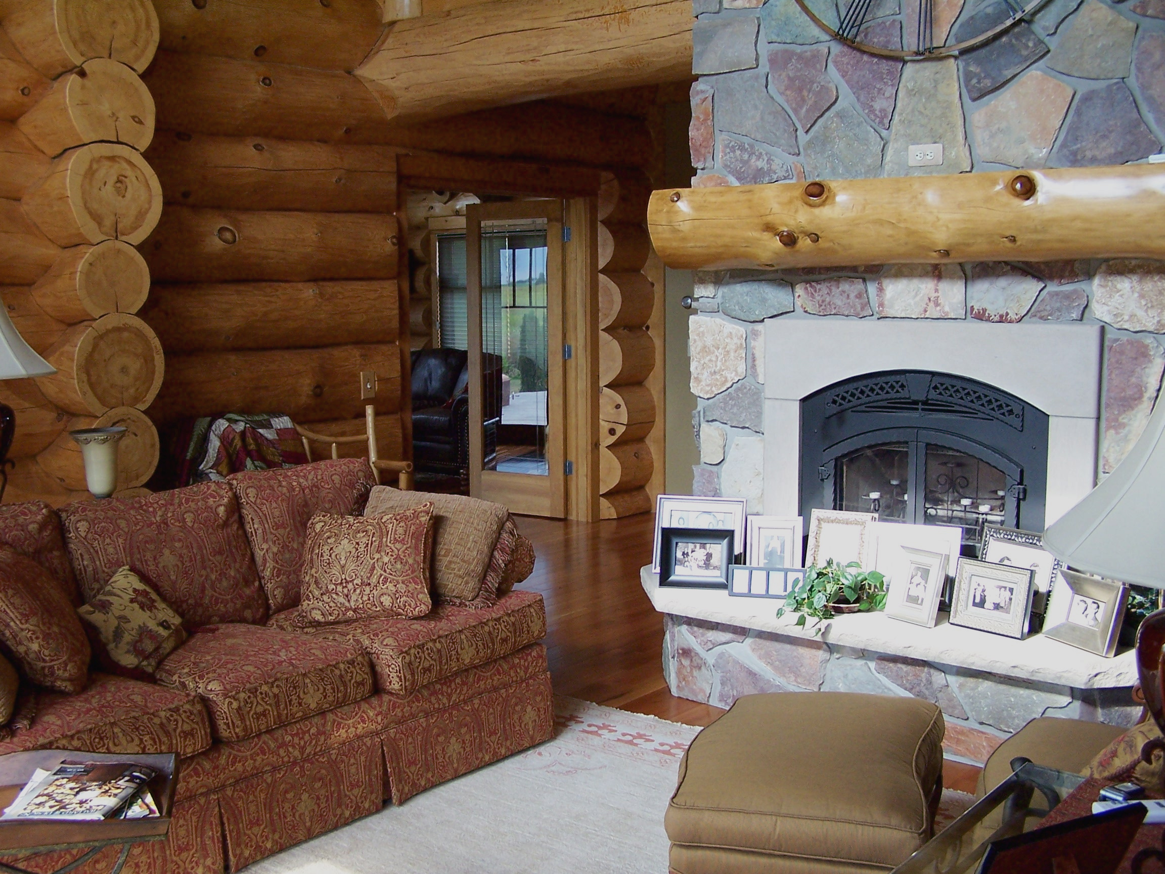 Interior Dec Log Home Design Services Design And Plan Timber Wolf