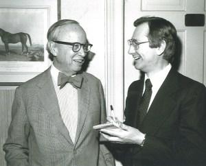 Arthur Schlesinger Jr., 1971