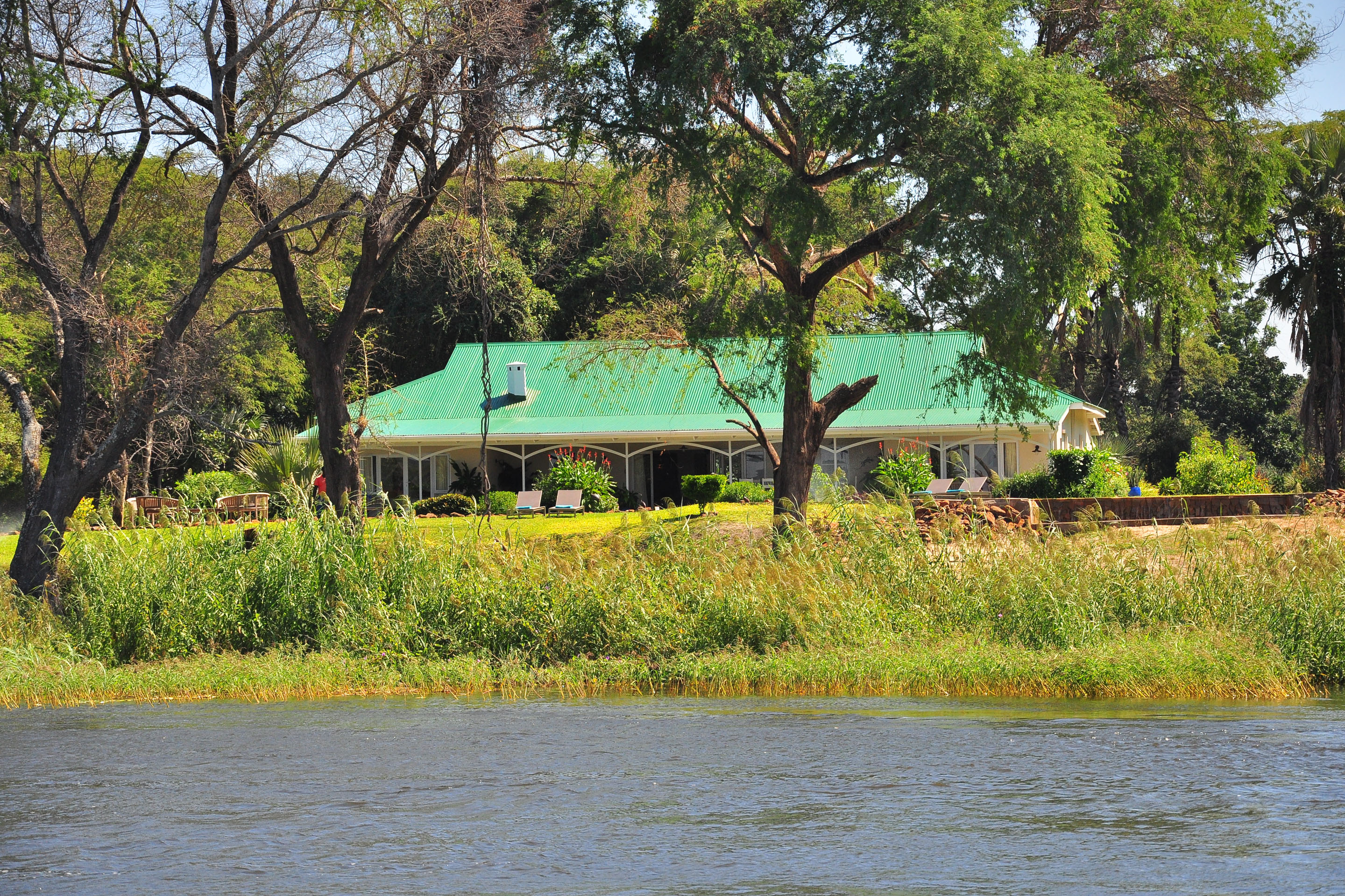 Bank Of Zambia Home The River Farmhouse Zambia Timbuktu Travel
